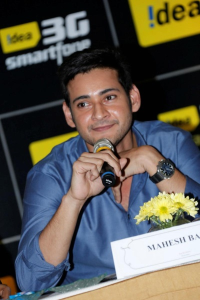 Mahesh Idea SmartPhone Launch1